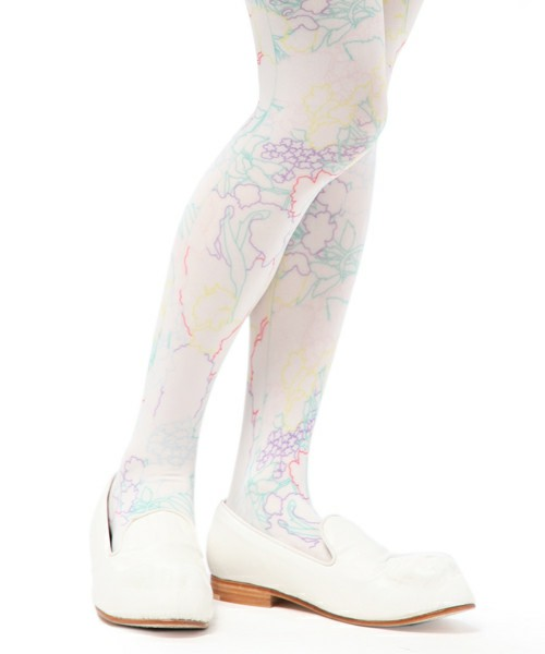 ANREALAGE / ■SHELL FRLOWER TIGHTS(タイツ・ストッキング) - ZOZOTOWN