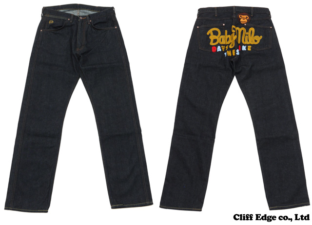【楽天市場】A BATHING APE 1997 TYPE-01 MILO CHAMPION MULTI DENIM PANTS(デニムパンツ) INDIGO 240-001191-047[2080-150-010]-【新品】【smtb-TD】【yokohama】:Cliff Edge
