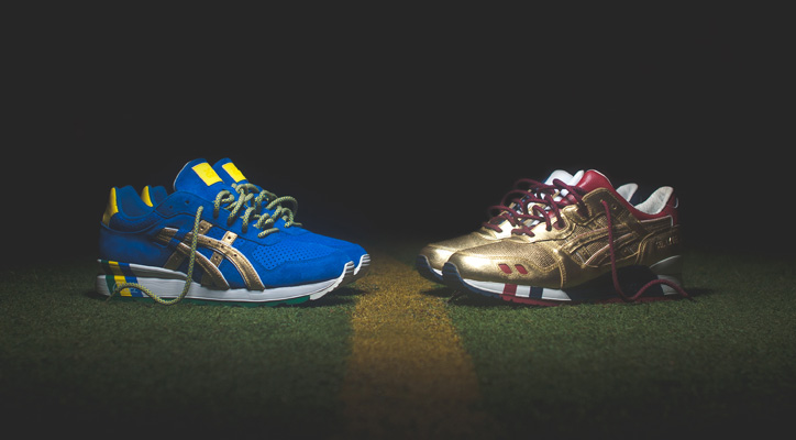 "Ronnie Fieg x ASICS ""KITH Football Equipment"" Pack - sneaker resource"