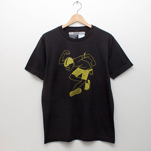 Skankin' Cyclist Tee - cup and cone WEB STORE