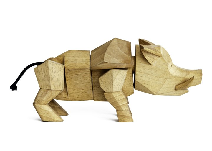 Hugo the Wild Wooden Boar