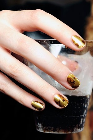 Minx nails at Alexander McQueen S/S11 | AnOther Loves