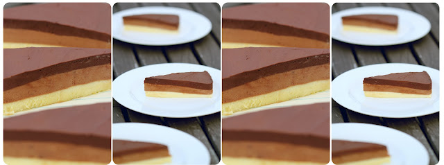 Dulce Delight: Triple layer chocolate mousse