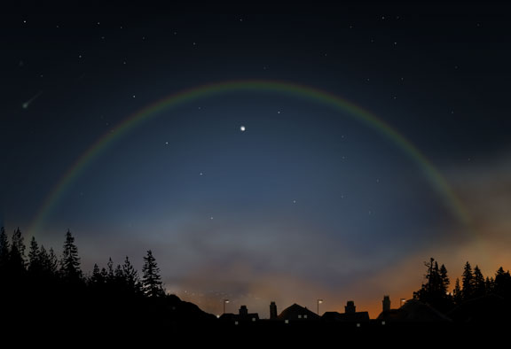 Moonbow by Julie Rodriguez Jones