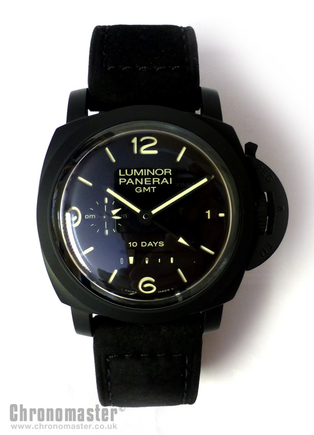 Panerai Luminor 10 Days GMT Ceramica PAM 335 | Chronomaster UK