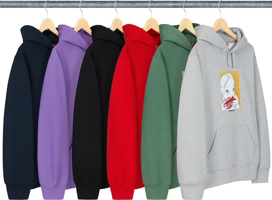 Supreme Nose Bleed Hooded Sweatshirt