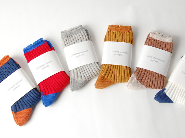 NOLLY&THE NATURES BLOG   commono reproducts/WORKERS SOX