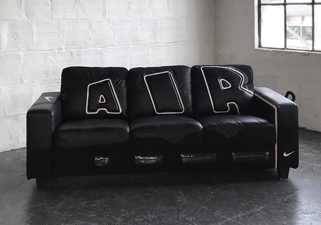 Air More Uptempo couch