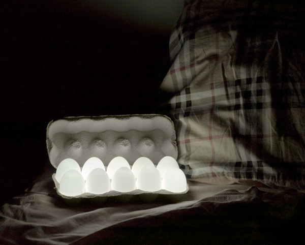 EGGLIGHT (hen's eggs and leds combination)) on the Behance Network