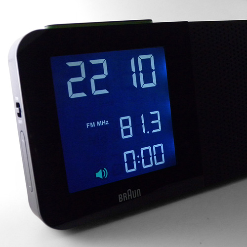 Digital Clock Radio, Black - Clocks - Bed + Bath