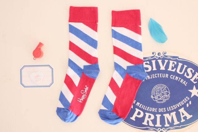 Happy Socks/Tricolore-Stripe - Shopping - Sophie et Chocolat ソフィー エ ショコラ