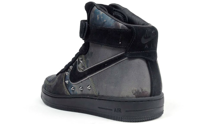 NIKE AIR FORCE I DOWNTOWN QS NEWSPRINT/BLACK 「LIMITED EDITION for NONFUTURE」 - sneaker resource