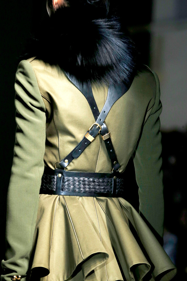 Regiment Leather Harness by Prabal Gurung Now Available on Moda Operandi