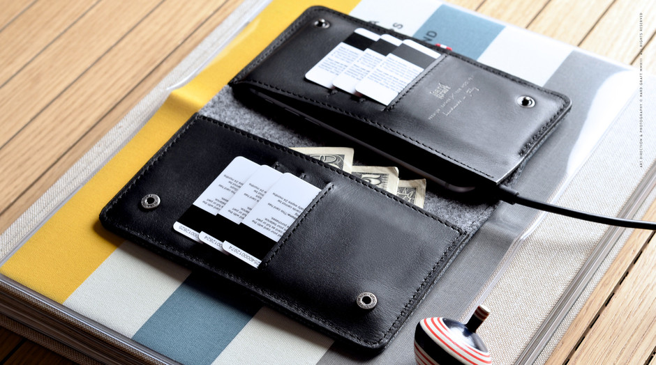 Mighty Phone Fold Wallet - Wallet for iPhone 6/Smartphone, Cash and Cards | Hard Graft