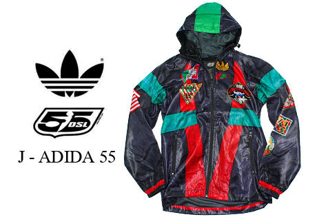 Adidas 55DSL Image 1 Of VS Collaboration Light Weight Jacket