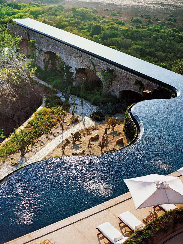 Marcel Marongiu Designed Pool in Mexico - COMPARE HOTELS PRICES - Travel Media