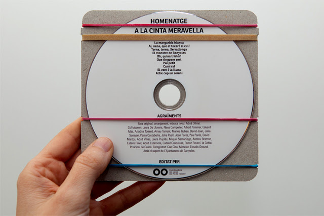 Packaging of the World: Creative Package Design Archive and Gallery: Homentage a la Cinta Meravella