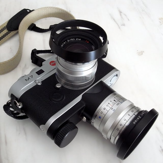 Fancy - Leica M7 Camera + Lens Carrier