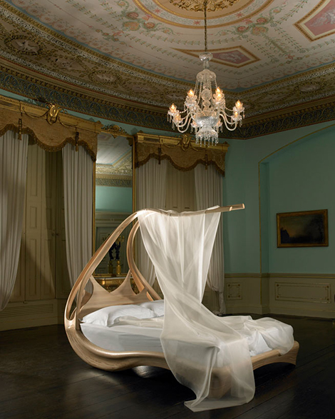 Canopy Bed by Joseph Walsh