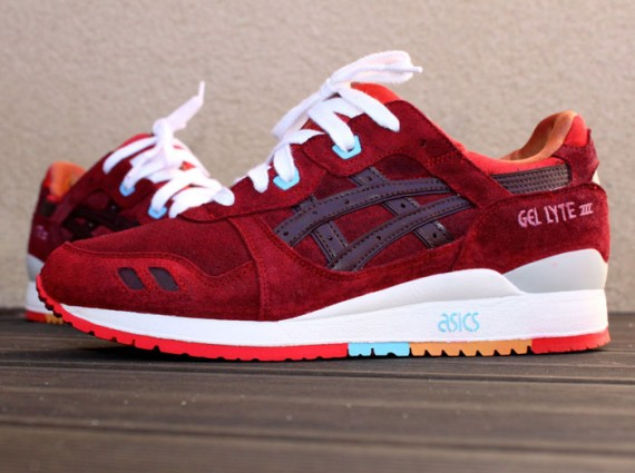 "round about: Asics Gel Lyte III ""Patta x Parra"" Customs"