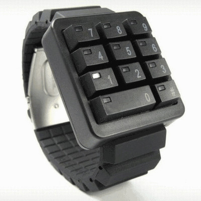keypad watch|TiCTAC ONLINE STORE