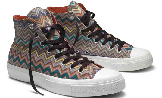 Missoni for Converse: Word of Mouth on Truth.Travel from Conde Nast Traveler
