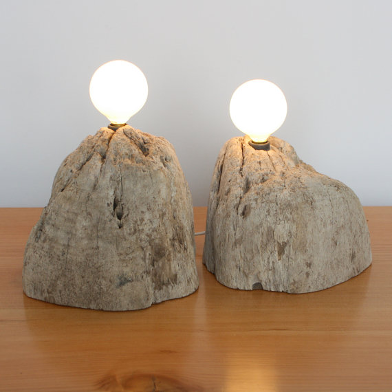 alder chunk pair of fragment lights by anzfer on Etsy