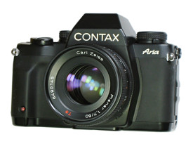 CONTAX Aria -フィルムを通せば
