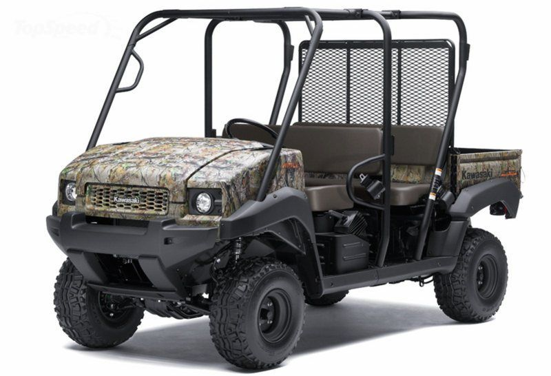 2012 Kawasaki Mule 4010 Trans4x4 Camo picture: 430653 - Top Speed