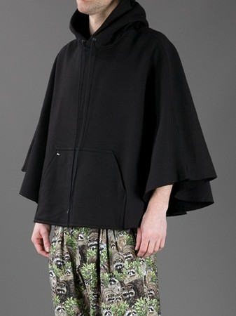 BLESS - No.47 hooded poncho 10
