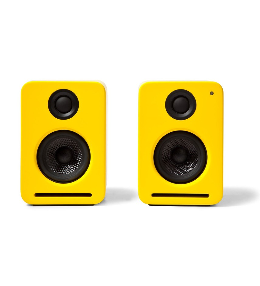 Nocs Dirty Yellow NS2 Air Monitors Active Speakers with Airplay | Hypebeast Store