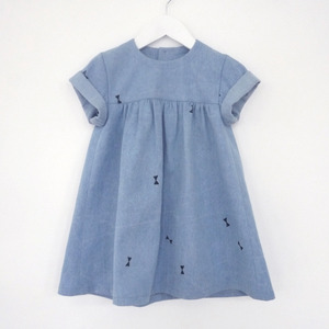 Oh My Kids — babydoll denim dress