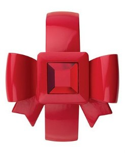 Betsey Johnson Women's Red-Bow Bangle Watch | Shop accessories,luxury, fashion | Kaboodle