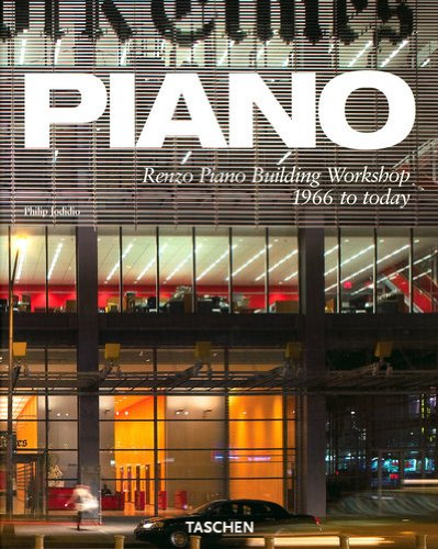 Amazon.co.jp: Piano: Renzo Piano building Workshop 1966 to Today: Philip Jodidio: 洋書