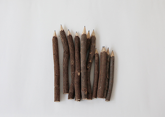 Tree Branch Pencil - Cazahana WebStore| カザハナ ウエブストア