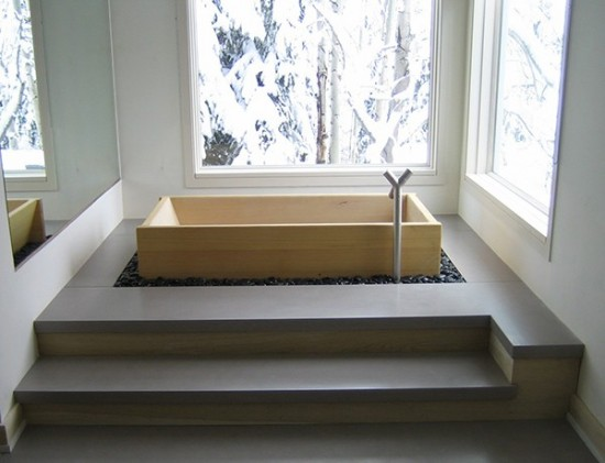 Japanese bath tubs and Ofuros - Deep soaking tubs