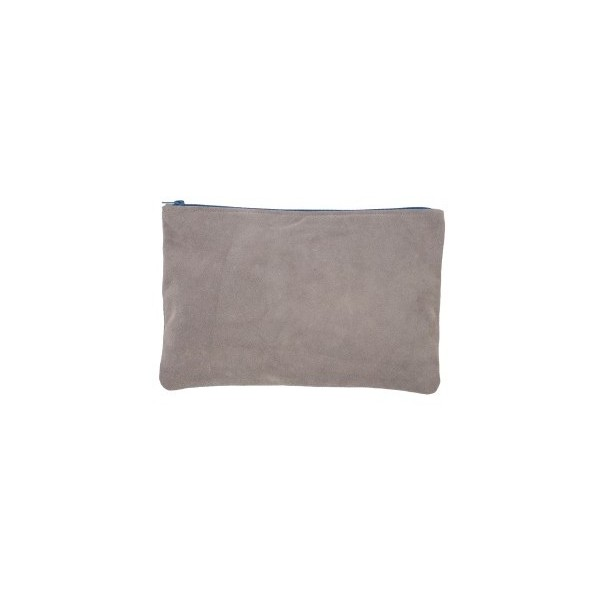 Medium Suede Carry-All Pouch - American Apparel - Polyvore