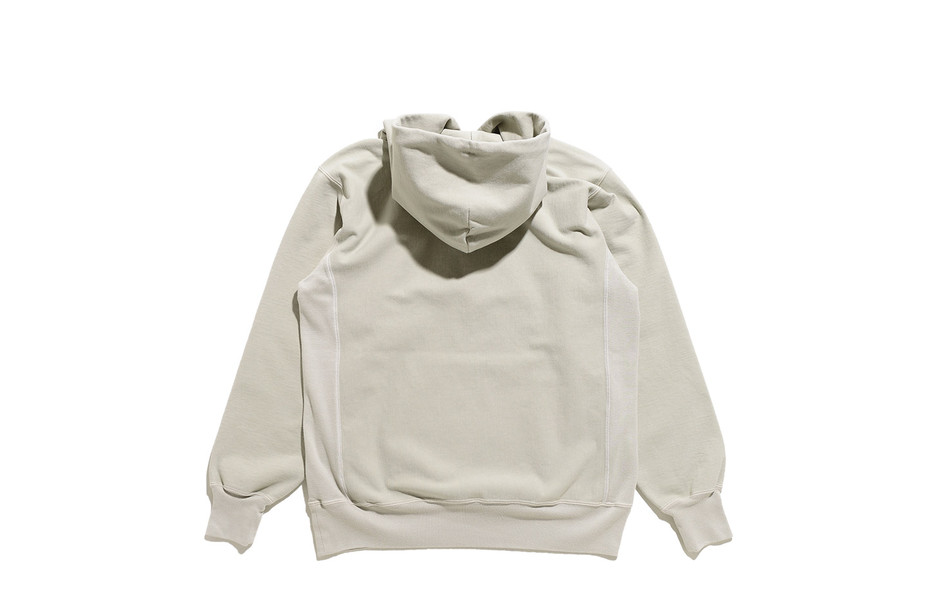 Super Milled Sweat P/O Parka-Pale Green