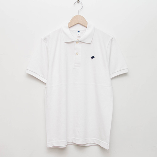 Basic Polo - White - cup and cone WEB STORE
