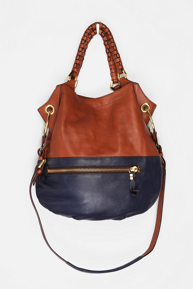 Oryany Two-Tone Zip Satchel - Urban Outfitters