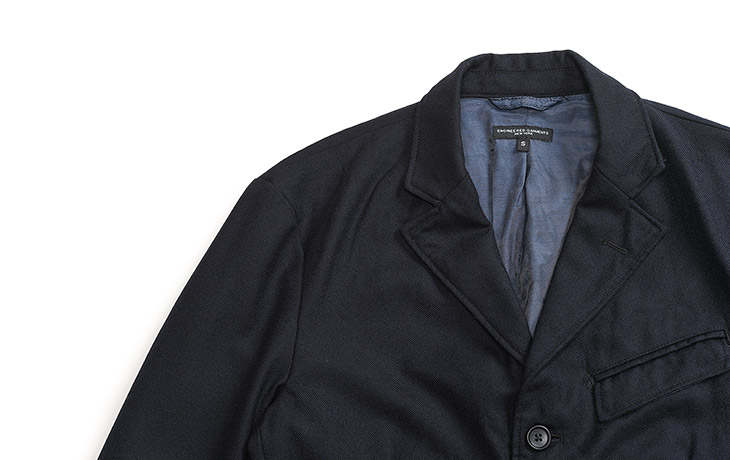 ENGINEERED GARMENTS/Andover Jacket-Worsted Heavy Wool-Dk.Navy