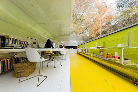 Dezeen » Blog Archive » Office in the Woods by Selgascano