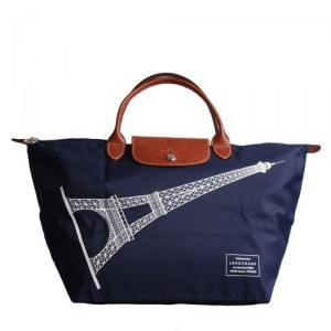 Longchamp Eiffel Tower Bag Large Blue,Longchamp Eiffel Tower Bag For Sale