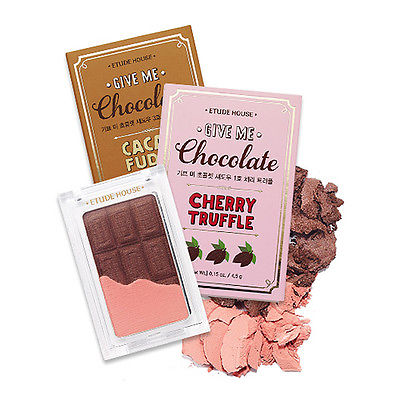 Etude House Give Me Chocolate Shadow 3 Color 4 5g Sweet Chocolate Color | eBay