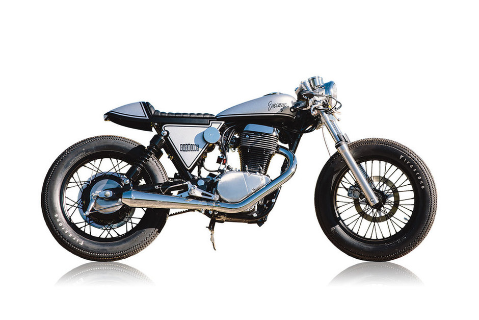 ϟ Hell Kustom ϟ: Suzuki S40 By Gasoline Motor Co.