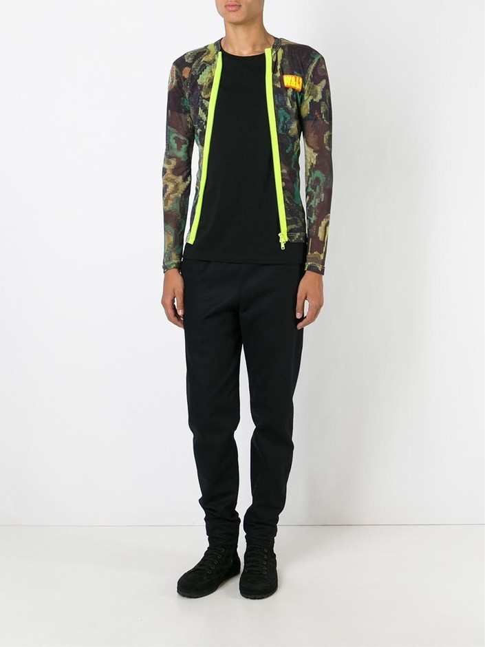 Walter Van Beirendonck Vintage 迷彩柄 シアートップス - House Of Liza - Farfetch.com