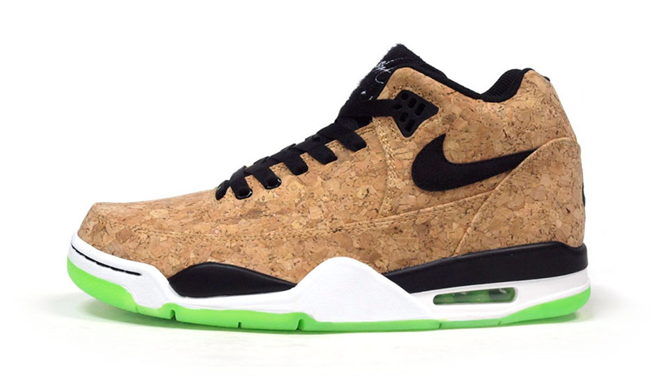 "FLIGHT SQUAD CORK ""LIMITED EDITION for NONFUTURE"" CORK/BLK/WHT/E.GRN ナイキ NIKE 