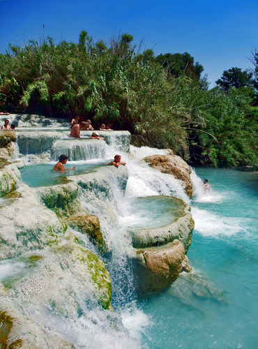 Mineral Baths, Terme di Saturnia , Tuscany, Italy... | Mr. Brightside
