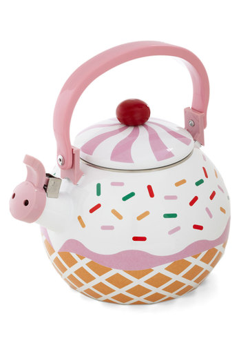 Care for a Cupcake? Tea Kettle | Mod Retro Vintage Kitchen | ModCloth.com