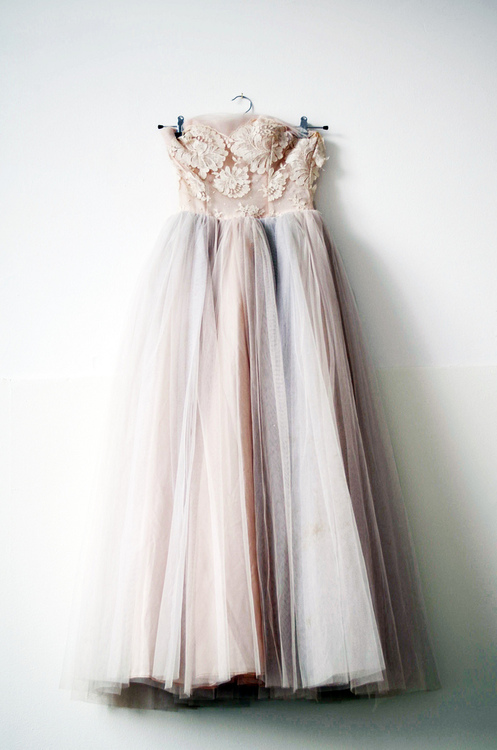 just curious♥ - vintage 1950s prom dress by elsa billgren